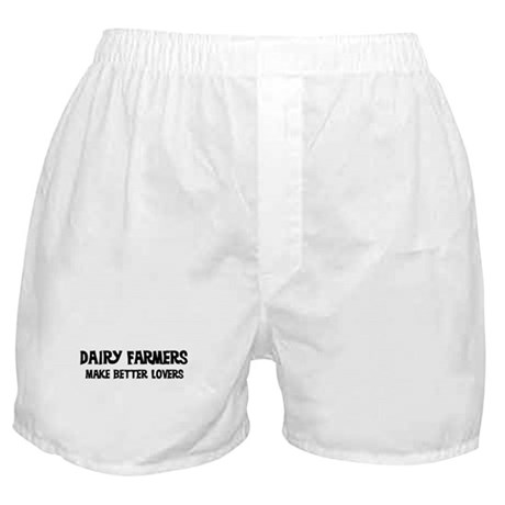Dairy Farmers: Better Lovers Boxer Shorts