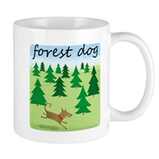 Forest Dog Mug