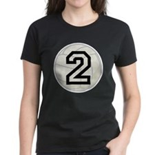 Volleyball Player Number 2 Tee
