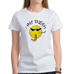I Eat Pussy Smiley Face Women's T-Shirt