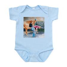 Horse Pedicure Infant Bodysuit