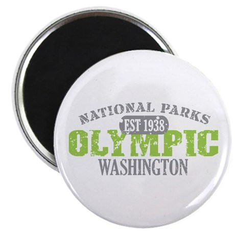 "Olympic National Park WA 2.25"" Magnet (10 pack)"