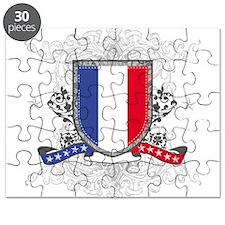 France Shield Puzzle