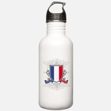 France Shield Water Bottle