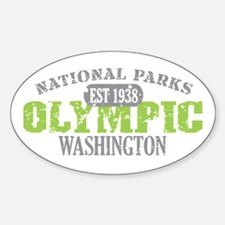 Olympic National Park WA Decal