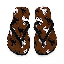 Cowboy or Cowgirl Flip Flops