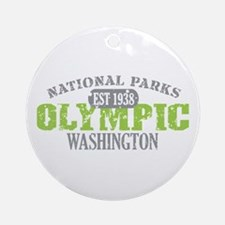 Olympic National Park WA Ornament (Round)