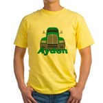 Trucker Ayden Yellow T-Shirt