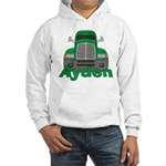 Trucker Ayden Hooded Sweatshirt