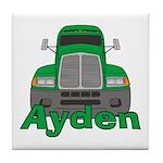 Trucker Ayden Tile Coaster