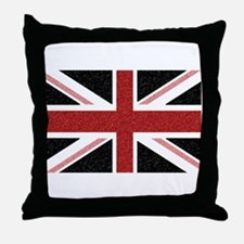 BRIT N' SPIRED Red Flag Throw Pillow