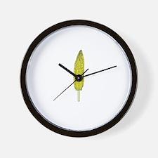 Corn On A Stick Wall Clock