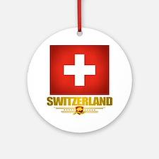 """Swiss Pride"" Ornament (Round)"