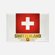 """Swiss Pride"" Rectangle Magnet"