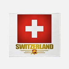 """""""Swiss Pride"""" Throw Blanket"""