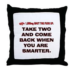 STFUT2 Throw Pillow