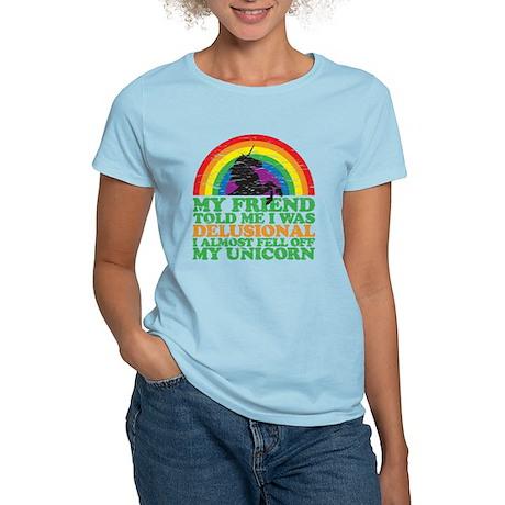 fell off my unicorn Women's Light T-Shirt