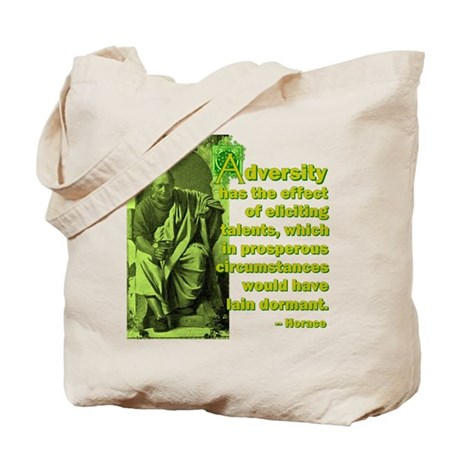 Adversity Elicits Talent Tote Bag