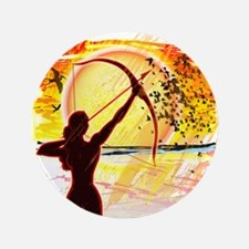 """Katniss Radiant as the Sun 3.5"""" Button (100 pack)"""