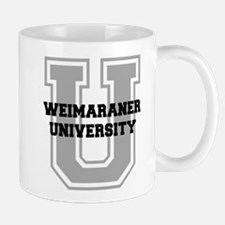 Weimaraner UNIVERSITY Mug