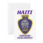 Haiti Tonton Macoutes Greeting Cards (Pk of 20)