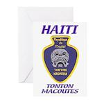 Haiti Tonton Macoutes Greeting Cards (Pk of 10)