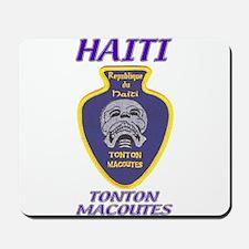 Haiti Tonton Macoutes Mousepad