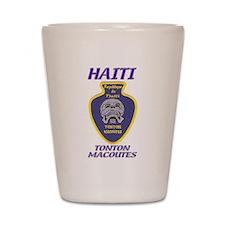 Haiti Tonton Macoutes Shot Glass