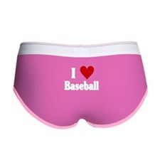 I Love Baseball Women's Boy Brief