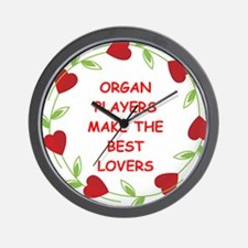 organ Wall Clock
