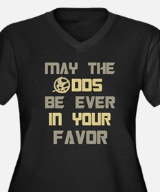May the odds ever in your fav Women's Plus Size V-