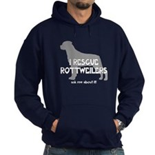 I RESCUE Rottweilers Hoodie