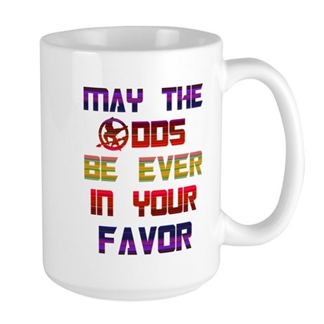 May the odds ever in your fav Large Mug