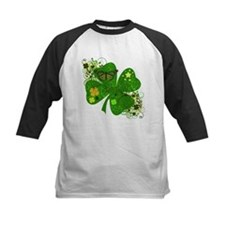 Fancy Irish 4 leaf Clover Tee