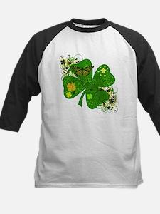 Fancy Irish 4 leaf Clover Tee
