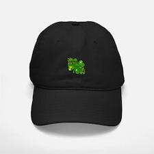 Fancy Irish 4 leaf Clover Baseball Hat