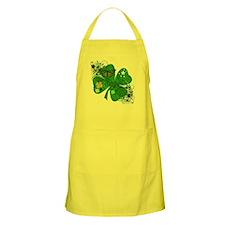 Fancy Irish 4 leaf Clover Apron