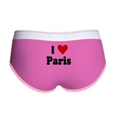 I Love Paris Women's Boy Brief