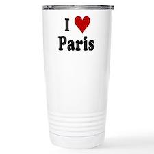 I Love Paris Travel Coffee Mug