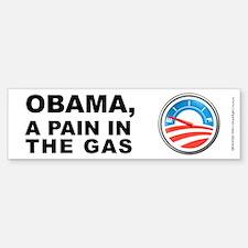 Obama Pain In Gas, Bumper Bumper Sticker