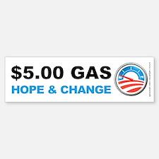 Five Dollar Gas, Bumper Bumper Sticker