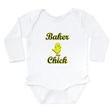 Baker Chick Long Sleeve Infant Bodysuit