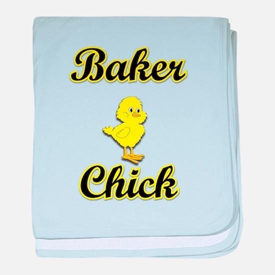 Baker Chick baby blanket