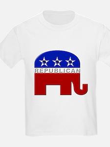Republican Elephant Logo - Kids T-Shirt