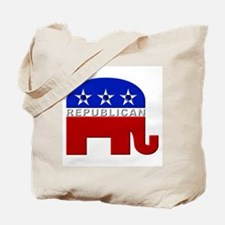 Republican Elephant Logo - Tote Bag