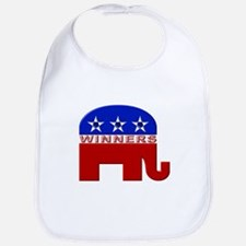 Republican Elephant Logo -  Bib