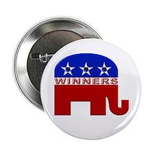 Republican Elephant Logo - Button