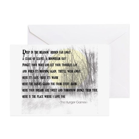 Song For Rue Greeting Cards (Pk of 10)
