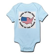 Land Of The Free Infant Creeper