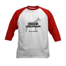 I RESCUE Dobermans Tee